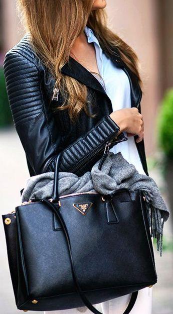La veste en cuir - 89 idées comment la porter - Archzine.fr