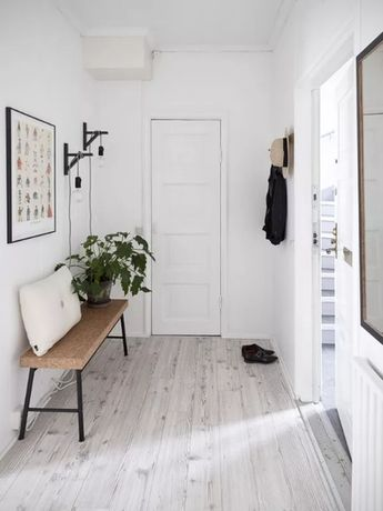 Looking for a Simply Scandinavian look in your entry? We've found it! www.impeccablenestdesign.com/blog/simplyscandinavian #scandinavian #thatsimpeccable #moodboardmonday