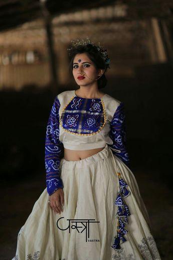 5fec838f992fd3 New Chaniya Choli & Blouse Designs for Navratri 2019 - Loo