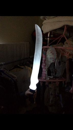 So a couple of people wanted to know how I made my seraph blade for my shadowhunters cosplay so here