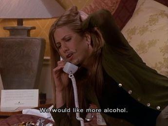 When Rachel and Ross got really, really drunk in Vegas.