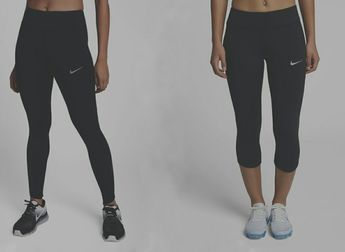 41b1de0a1bfc8c Details about Nike women's tights epic lux running long capri 890319  890305-010 black XS