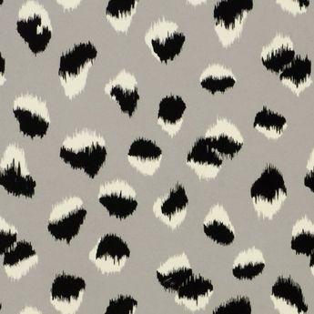 Groundworks FELINE PAPER GREY/BLACK Wallpaper