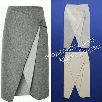 #юбка #моделированиеодежды #выкройка #pattern