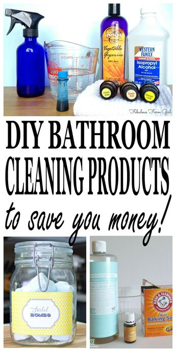 DIY Bathroom Cleaning Products: Stop Buying & Start Making