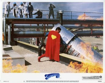 Superman III - Lobby card with Christopher Reeve