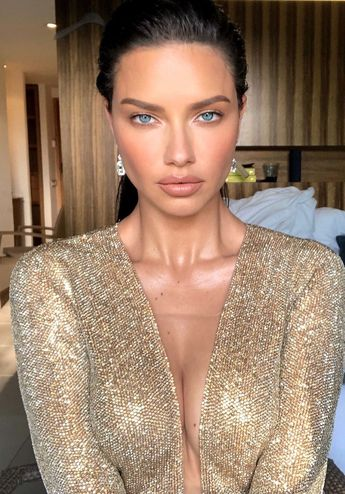 How Adriana Lima Got Ready for the amfAR Gala in Cannes
