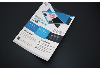 Pompano Creative Business Flyer Design Template - Graphic Templates