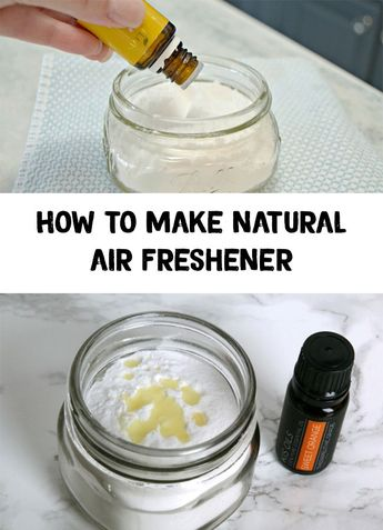 How to make natural air freshener