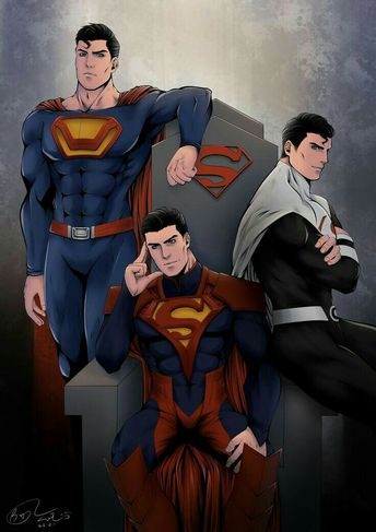 Superman - different costumes