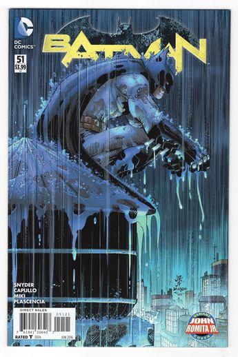 Batman #51 John Romita Jr. Variant Cover (2016)