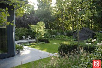 Stoop tuinen moderne tuinarchitectuur in luxe tuin hoo