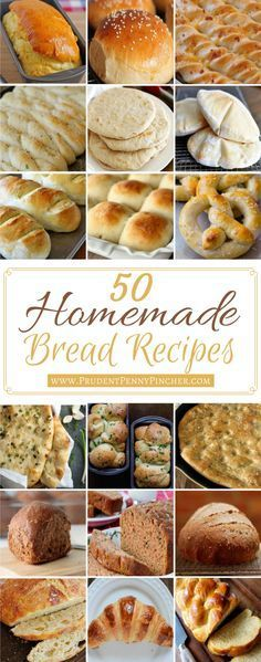 100 Homemade Bread Recipes