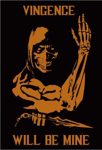 Скорпион (Scorpion) - персонаж игры и одноименного фильма Мортал Комбат (Mortal Kombat, Смертельная битва). Японский ниндзя,  Ханзо Хасаши является членом клана Ширай Рю. Воин - демон, переродившийся в преисподней и поклявшийся отомстить за смерть своей семьи и клана.
