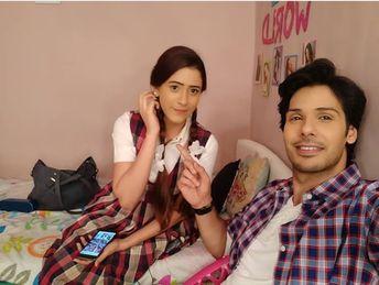 Taarak Mehta with his wife Anjali Mehta (Character Names)
