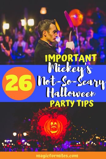 26 MNSSHP Review Tips  to help make this the best Mickey's Not So Scary Halloween Party the best ever!!! #MNSSHP2019 #disneytips2019 #disneytricks #disneyvacation #disneyfun #disneyfamily #disneykids #disneyhalloween