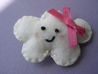 Happy Little Cloud Brooch