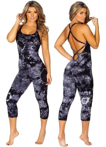 9ffd062e9953 Protokolo 2712 Catsuit Sexy Sports Clothes Workout Wear Gym Activewear  Fitness