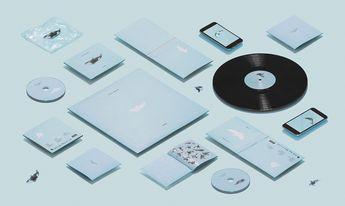 Safia Nolin, Limoilou. CD and Vinyl Packaging