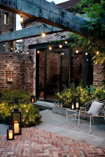 Jardin ambiance lounge : idées d'aménagement