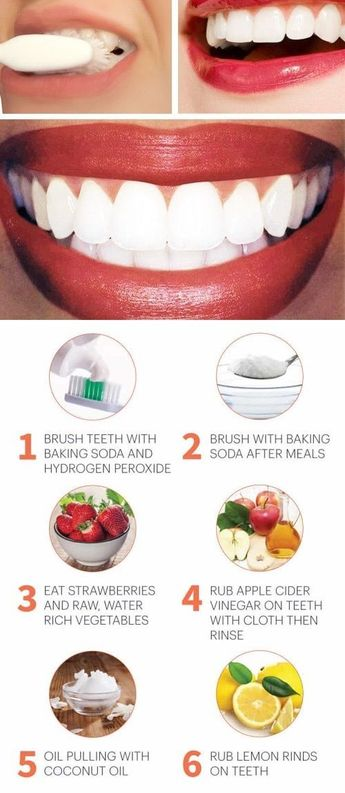 Natural Ways To Whiten Teeth How To Make Teeth White Natu