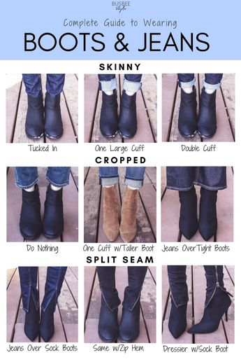 The Complete Guide to Wearing Boots with Jeans