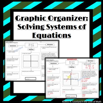 Pairs check activity solving systems of equations subst solving systems of equations basic graphic organizers ibookread Download