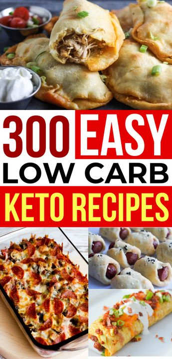300+ Ketogenic Diet Recipes For Weight Loss (Low Carb & Keto