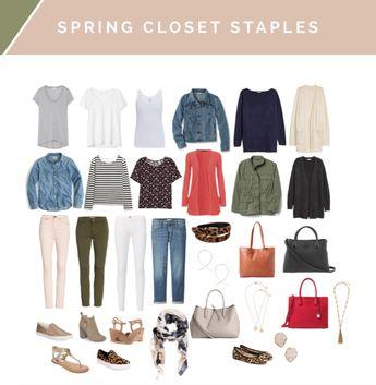Closet Staples Casual Capsule Wardrobe Builder