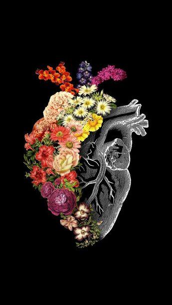 A Heart full of Flowers #lockscreen #wallpaper - #Flowers #full #Heart #lockscreen #wallpaper #zeichnung