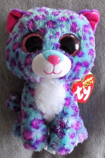 Ty 19203  Dreamer - Ty Beanie Boo Justice Exclusive The Leopard 6 - New With f15e4c90c424