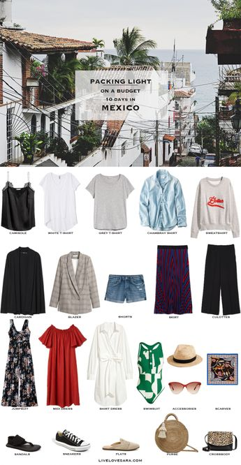 What to Pack for Mexico - A Budget Packing Light List