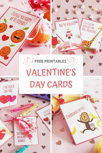 12 Free Kids Valentine's Day Printables For Elementary School