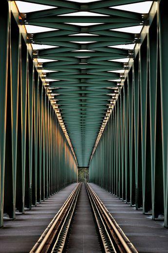 Railway bridge by Gabor Jonas on 500px