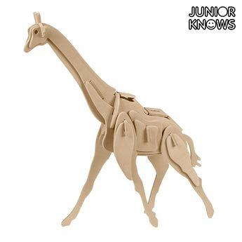 0,95€Junior Knows 3D Wooden Wild Animals Puzzle