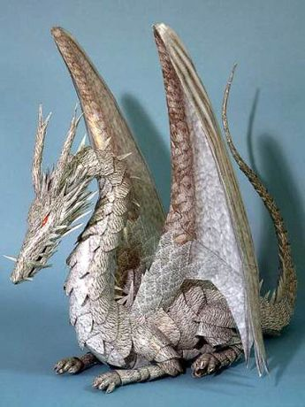 Papercraft Dragon Tales from the Earthsea