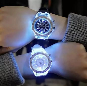 Glowing LED Watch for Men or Woman for Gifts