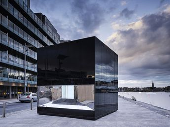 Brilliant 5CUBE sends powerful tangible message of Ireland's dependence on fossil fuels