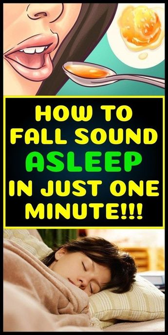 How To Fall Sound Asleep In Just One Minute