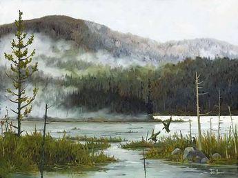 Le Lac VaseauBy Yvon Lemieux