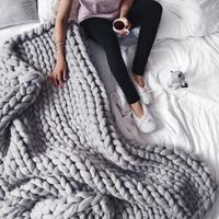 Large Extreme Chunky Braid Blanket