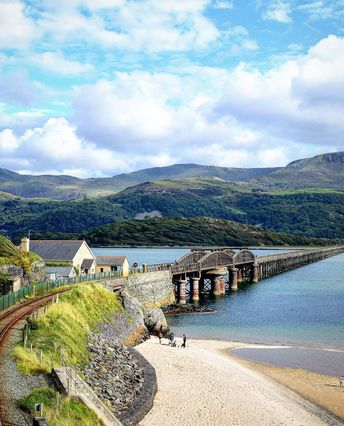 Barmouth bridge is one of the longest timber viaducts still standing in Britain and it celebrates its 150th anniversary this weekend. Image…