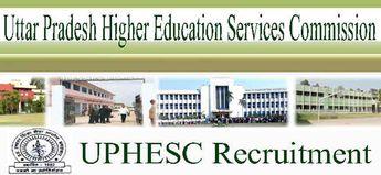 UPHESC Principal Recruitment 2019 Apply Online 290 Post in UP College