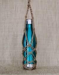 Image result for macrame water bottle holder pattern