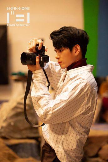 Wanna One Album Jacket Behind Cut