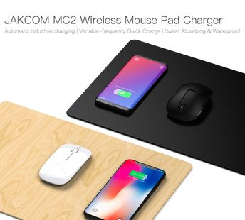 JAKCOM MC2 Wireless Mouse Pad Charger Hot sale in Chargers as chargeur batterie cargadores xtar