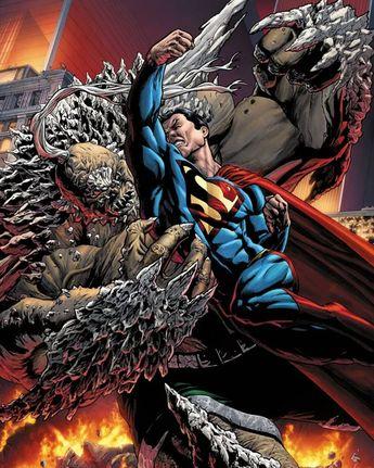 Superman vs Doomsday  #supergirl #captainamerica #ironman #avengers #spiderman #hawkeye #superman #marvelcomics #joker #justiceleague #batman #theflash #deadpool #starwars #magneto #captainamericacivilwar #thor #dccomics #civilwar #harleyquinn #daredevil #hulk #wolverine #xmen #wonderwoman #doomsday by devilzsmile.com #devilzsmile