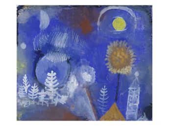 Landscape of the Past, 1918 Giclee Print by Paul Klee