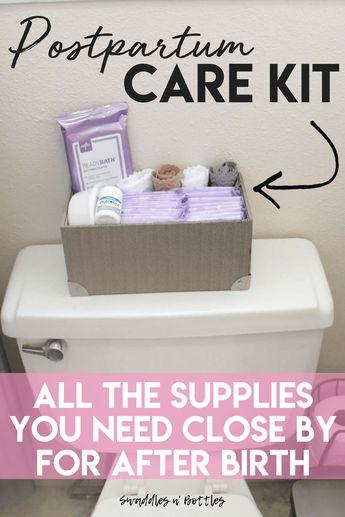Postpartum Care Kit