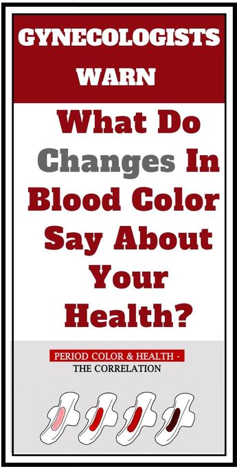 Read this #warning from #gynecologists about #blood #changes in your #period. #health #healthy #life #women #girls